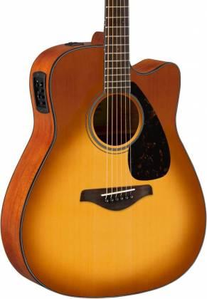 Yamaha FGX800C SDB FG Series 6-String RH Acoustic Electric Guitar-Sand Burst fgx-800-c-sdb Product Image 6