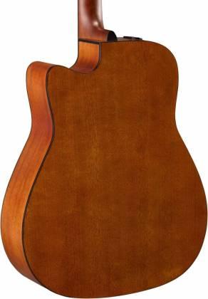 Yamaha FGX800C SDB FG Series 6-String RH Acoustic Electric Guitar-Sand Burst fgx-800-c-sdb Product Image 5
