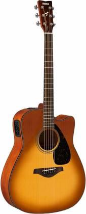 Yamaha FGX800C SDB FG Series 6-String RH Acoustic Electric Guitar-Sand Burst fgx-800-c-sdb Product Image 4