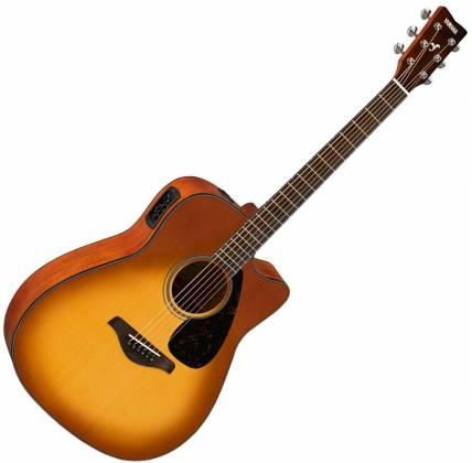 Yamaha FGX800C SDB FG Series 6-String RH Acoustic Electric Guitar-Sand Burst fgx-800-c-sdb Product Image