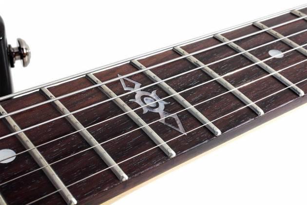 Schecter 3822-SHC C-7 SGR 7-String RH Electric Guitar-Midnight Satin Black 3822-shc Product Image 5