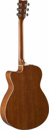 Yamaha FSX800C Concert Cutaway 6-String RH Acoustic Electric Guitar-Natural fsx-800-c Product Image 9