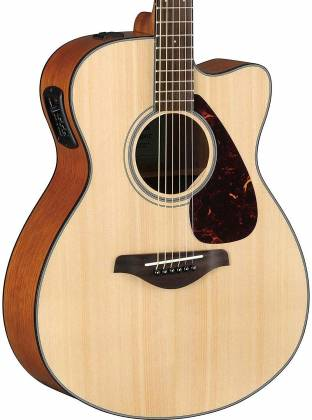 Yamaha FSX800C Concert Cutaway 6-String RH Acoustic Electric Guitar-Natural fsx-800-c Product Image 8