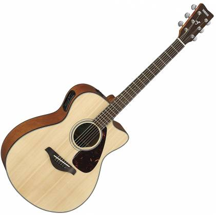 Yamaha FSX800C Concert Cutaway 6-String RH Acoustic Electric Guitar-Natural fsx-800-c Product Image