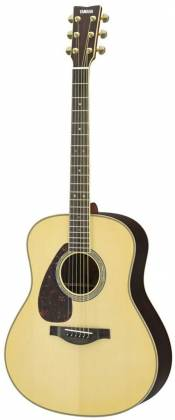 Yamaha LL16LARE Original Jumbo 6-String LH Acoustic Electric Guitar with Gig Bag-Natural ll-16-lare Product Image 4