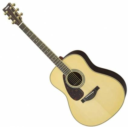 Yamaha LL16LARE Original Jumbo 6-String LH Acoustic Electric Guitar with Gig Bag-Natural ll-16-lare Product Image