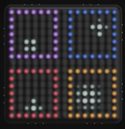 Roli LIGHTPAD-BLOCK-M-SE Blocks Series Super Powered Electronic Drum Pad and MIDI Controller light-pad-block-m-se Product Image 5