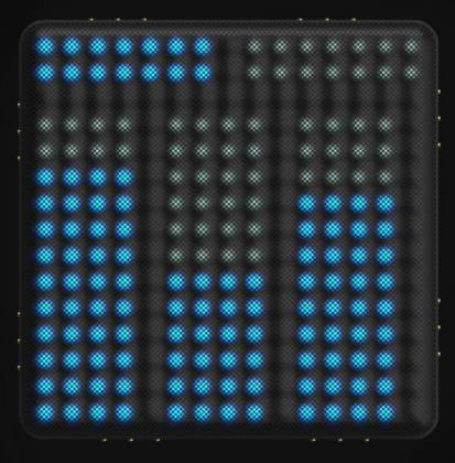 Roli LIGHTPAD-BLOCK-M-SE Blocks Series Super Powered Electronic Drum Pad and MIDI Controller light-pad-block-m-se Product Image 3