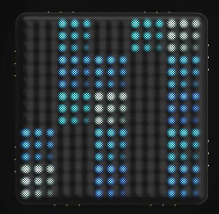Roli LIGHTPAD-BLOCK-M-SE Blocks Series Super Powered Electronic Drum Pad and MIDI Controller light-pad-block-m-se Product Image 2