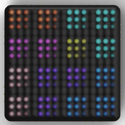 Roli LIGHTPAD-BLOCK-M-SE Blocks Series Super Powered Electronic Drum Pad and MIDI Controller light-pad-block-m-se Product Image 13
