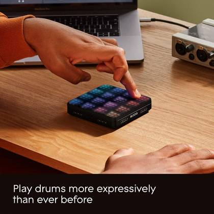 Roli LIGHTPAD-BLOCK-M-SE Blocks Series Super Powered Electronic Drum Pad and MIDI Controller light-pad-block-m-se Product Image 10