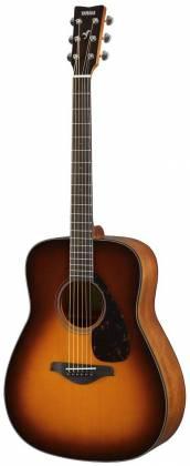 Yamaha FG800 BS FG Series Dreadnought 6-String RH Acoustic Guitar-Brown Sunburst fg-800-bs Product Image 4