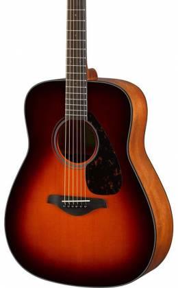 Yamaha FG800 BS FG Series Dreadnought 6-String RH Acoustic Guitar-Brown Sunburst fg-800-bs Product Image 3