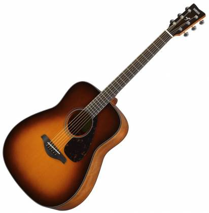Yamaha FG800 BS FG Series Dreadnought 6-String RH Acoustic Guitar-Brown Sunburst fg-800-bs Product Image