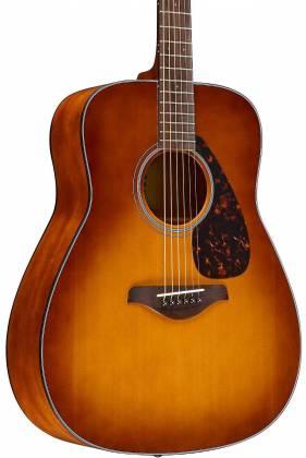 Yamaha FG800 SDB FG Series Dreadnought 6-String RH Acoustic Guitar-Sand Burst fg-800-sdb Product Image 8