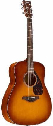 Yamaha FG800 SDB FG Series Dreadnought 6-String RH Acoustic Guitar-Sand Burst fg-800-sdb Product Image 6