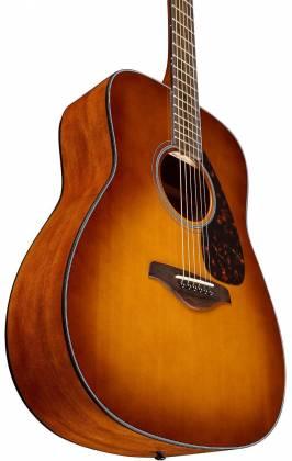 Yamaha FG800 SDB FG Series Dreadnought 6-String RH Acoustic Guitar-Sand Burst fg-800-sdb Product Image 3
