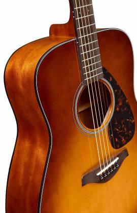 Yamaha FG800 SDB FG Series Dreadnought 6-String RH Acoustic Guitar-Sand Burst fg-800-sdb Product Image 2