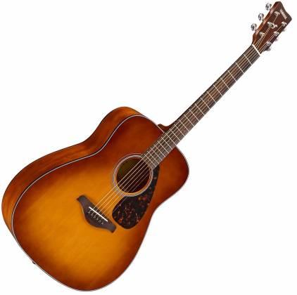 Yamaha FG800 SDB FG Series Dreadnought 6-String RH Acoustic Guitar-Sand Burst fg-800-sdb Product Image