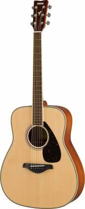 Yamaha FG820 FG Series Dreadnought 6 String Acoustic Guitar-Natural Gloss fg-820 Product Image 5