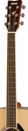 Yamaha FG820 FG Series Dreadnought 6 String Acoustic Guitar-Natural Gloss fg-820 Product Image 4