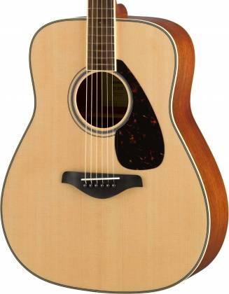 Yamaha FG820 FG Series Dreadnought 6 String Acoustic Guitar-Natural Gloss fg-820 Product Image 3
