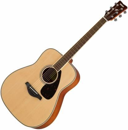 Yamaha FG820 FG Series Dreadnought 6 String Acoustic Guitar-Natural Gloss fg-820 Product Image