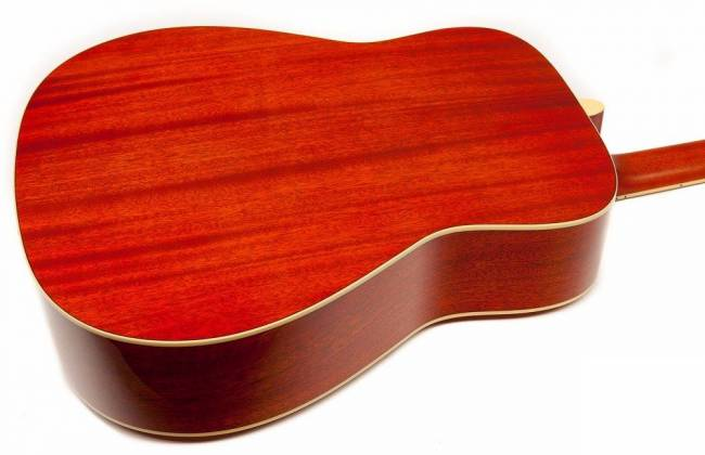 Yamaha FG820 AB FG Series Dreadnought 6 String RH Acoustic Guitar-Autumn Burst fg-820-ab Product Image 5