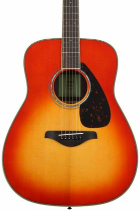 Yamaha FG820 AB FG Series Dreadnought 6 String RH Acoustic Guitar-Autumn Burst fg-820-ab Product Image 4