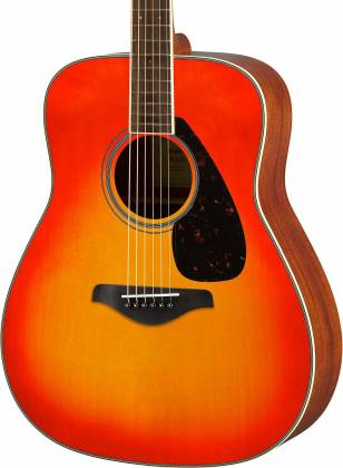 Yamaha FG820 AB FG Series Dreadnought 6 String RH Acoustic Guitar-Autumn Burst fg-820-ab Product Image 3