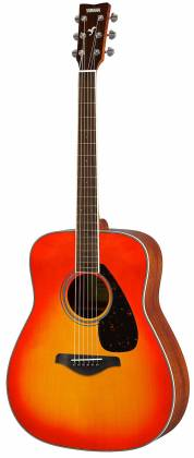 Yamaha FG820 AB FG Series Dreadnought 6 String RH Acoustic Guitar-Autumn Burst fg-820-ab Product Image 2