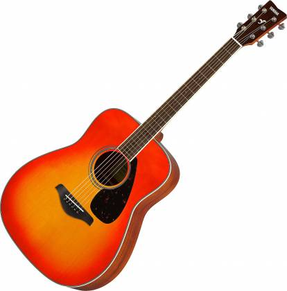 Yamaha FG820 AB FG Series Dreadnought 6 String RH Acoustic Guitar-Autumn Burst fg-820-ab Product Image