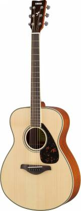 Yamaha FS820 FS Series Concert 6-String RH Acoustic Guitar-Natural fs-820 Product Image 4