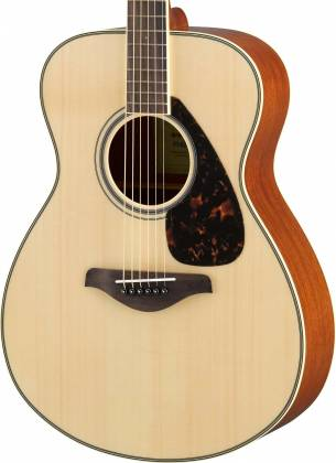Yamaha FS820 FS Series Concert 6-String RH Acoustic Guitar-Natural fs-820 Product Image 2