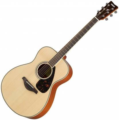 Yamaha FS820 FS Series Concert 6-String RH Acoustic Guitar-Natural fs-820 Product Image 1
