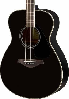 Yamaha FS820 BL FS Series Concert 6-String RH Acoustic Guitar-Black fs-820-bl Product Image 3