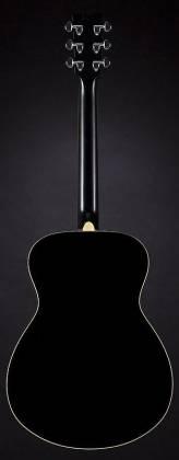 Yamaha FS820 BL FS Series Concert 6-String RH Acoustic Guitar-Black fs-820-bl Product Image 2