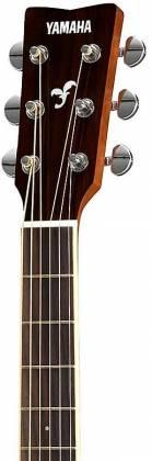 Yamaha FS820 BL FS Series Concert 6-String RH Acoustic Guitar-Black fs-820-bl Product Image 5