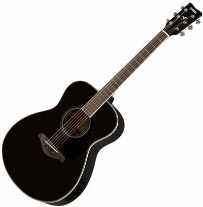 Yamaha FS820 BL FS Series Concert 6-String RH Acoustic Guitar-Black fs-820-bl Product Image