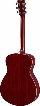 Yamaha FS820 RR FS Series Concert 6-String RH Acoustic Guitar-Ruby Red fs-820-rr Product Image 3