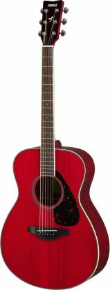 Yamaha FS820 RR FS Series Concert 6-String RH Acoustic Guitar-Ruby Red fs-820-rr Product Image 2