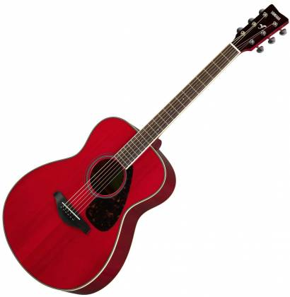 Yamaha FS820 RR FS Series Concert 6-String RH Acoustic Guitar-Ruby Red fs-820-rr Product Image