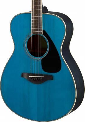 Yamaha FS820 TQ FS Series Concert 6-String RH Acoustic Guitar-Turquoise fs-820-tq Product Image 6