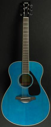 Yamaha FS820 TQ FS Series Concert 6-String RH Acoustic Guitar-Turquoise fs-820-tq Product Image 4