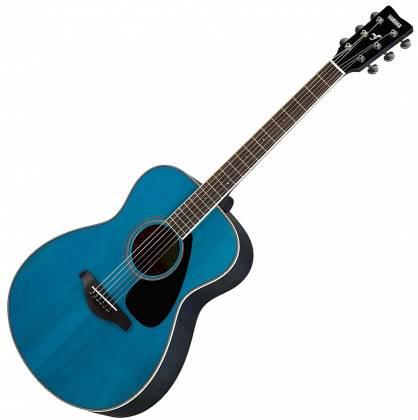 Yamaha FS820 TQ FS Series Concert 6-String RH Acoustic Guitar-Turquoise fs-820-tq Product Image