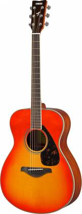 Yamaha FS820 AB FS Series Concert 6-String RH Acoustic Guitar-Autumn Burst fs-820-ab Product Image 5
