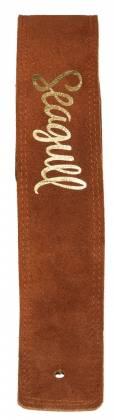 Seagull 048663 Dakota Cognac Guitar Strap 048663 Product Image 2