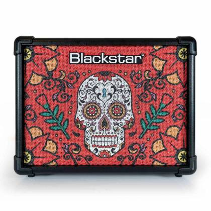 Blackstar ID:CORE 10V2SS2 Sugar Skull Special Edition ID:Core 10 Version 2 Stereo 2x5W Combo Amplifier id-core-10-v-2-ss-2 Product Image