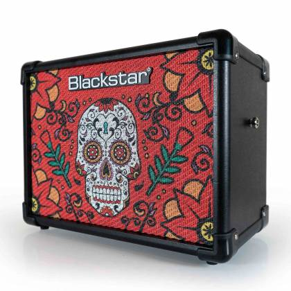 Blackstar ID:CORE 10V2SS2 Sugar Skull Special Edition ID:Core 10 Version 2 Stereo 2x5W Combo Amplifier id-core-10-v-2-ss-2 Product Image 2