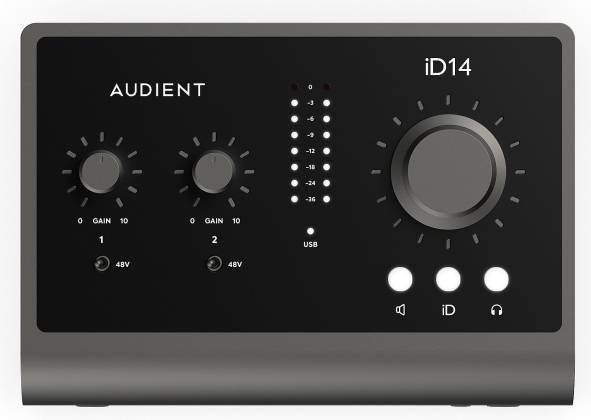 Audient iD14 Mk.II High Performance USB Audio Interface id-14-mk-2 Product Image